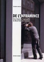 Couverture De l'inframince : Brève histoire de l'imperceptible, de Marcel Duchamp à nos jours