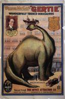Affiche Gertie le dinosaure