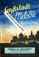 Affiche Le chant de la métropole