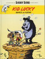 Couverture Suivez la flèche - Les Aventures de Kid Lucky d'après Morris, tome 4