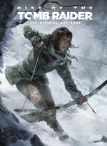 Couverture Rise of the Tomb Raider : The Official Artbook