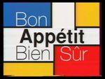 Affiche Bon appétit bien sûr