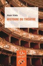 Couverture Histoire du théâtre