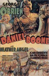 Affiche Daniel Boone