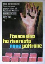 Affiche L'assassin a réservé 9 fauteuils