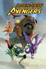 Couverture Lockjaw and the Pet Avengers