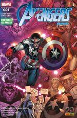 Couverture Baptême Du Feu - Avengers Universe (2ème série), tome 1