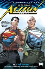 Couverture Men of Steel - Superman : Action Comics (Rebirth), tome 3