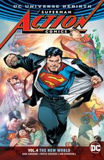 Couverture The New World - Superman : Action Comics (Rebirth), tome 4