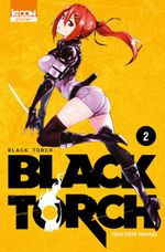 Couverture Black Torch, tome 2