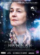 Affiche Hannah