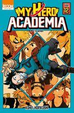 Couverture L'Examen - My Hero Academia, tome 12