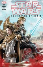 Couverture Star Wars : The Storms of Crait