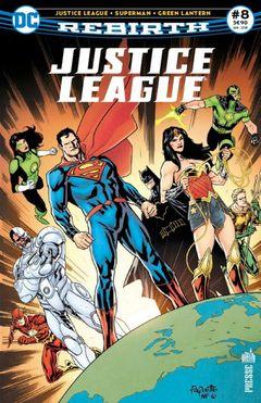 Couverture Justice League Rebirth (DC Presse), tome 8