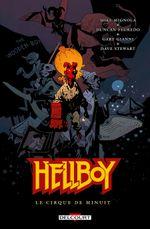 Couverture Le Cirque de minuit - Hellboy, tome 16
