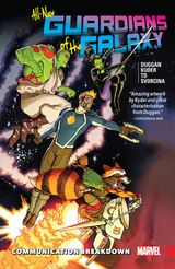 Couverture All-New Guardians of The Galaxy (2017), tome 1
