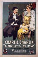 Affiche Charlot au music-hall