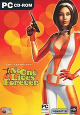Jaquette No One Lives Forever