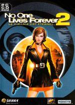 Jaquette No One Lives Forever 2 : Le C.R.I.M.E est éternel