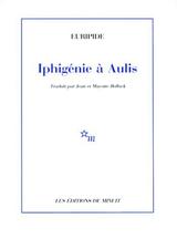 Couverture Iphigénie à Aulis