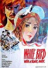 Affiche L'Oiseau blanc marqué de noir