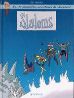Couverture Slaloms - Les Formidables Aventures de Lapinot, tome 0