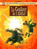 Couverture La Couleur de l'enfer - Les Formidables Aventures de Lapinot, tome 7