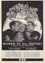 Affiche Women of All Nations