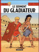 Couverture Le Serment du gladiateur - Alix, tome 36
