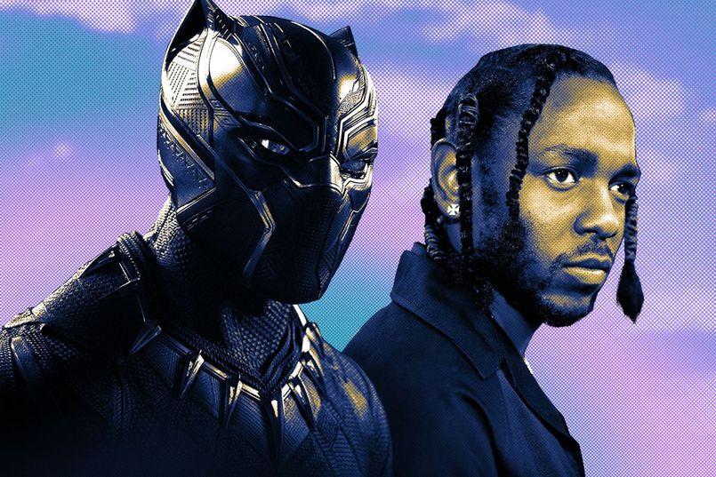 """Illustration LE SON DU JOUR : Kendrick Lamar sort un nouveau son pour la BO de """"Black Panther"""""""