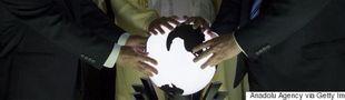 Cover les globes terrestres dans les films ( mappemondes)