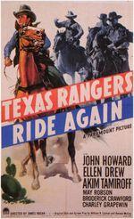 Affiche Le Retour des Texas Rangers