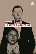 Couverture La Note américaine