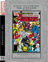 Couverture Marvel Masterworks: The Avengers, tome 18