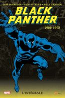 Couverture 1966-1975 - Black Panther : Intégrale, tome 1