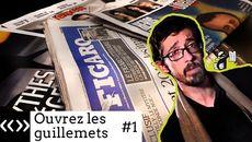 screenshots «Ouvrez les guillemets», par Usul: la presse et moi