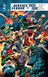 Couverture Justice League Vs. Suicide Squad