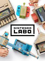 Jaquette Nintendo Labo