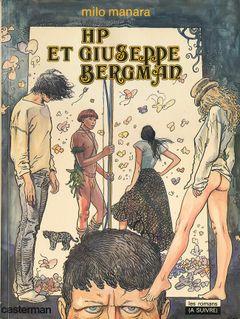 Couverture HP et Giuseppe Bergman - Giuseppe Bergman, tome 1