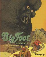Couverture Créatures - Big Foot, tome 3