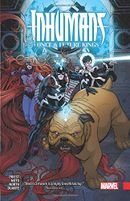 Couverture Inhumans: Once and Future Kings