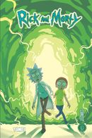 Couverture Rick and Morty Tome 1