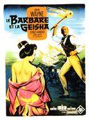 Affiche Le Barbare et la Geisha