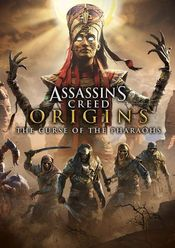 Jaquette Assassin's Creed Origins : The Curse of the Pharaohs