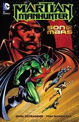 Couverture Martian Manhunter: Son of Mars