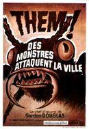 Affiche Des monstres attaquent la ville