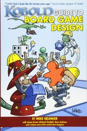 Couverture Kobold Guide to Board Game Design