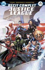Couverture Titans : Bienvenue à Manhattan - Récit Complet Justice League, tome 5