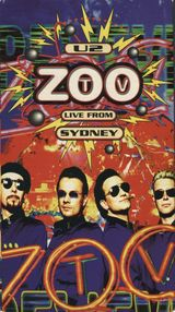 Affiche U2: Zoo TV Live from Sydney