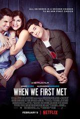 Affiche When We First Met
